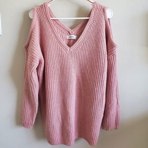 Mod knitted sweater